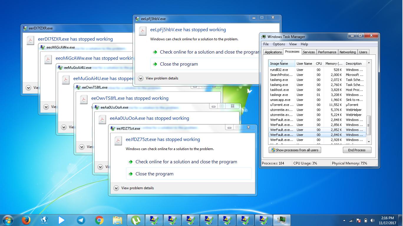 cara mengatasi werfault.exe application error windows 10