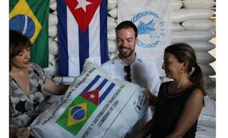 Feijão brasileiro doado a Cuba foi vendido pelos Castros