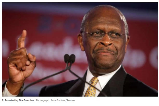 Herman Cain 'tweeted' two weeks after his death to attack Democrats