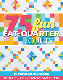 FAT QUARTER QUILTS-PRECUT QUILTS-QUILT PATTERNS