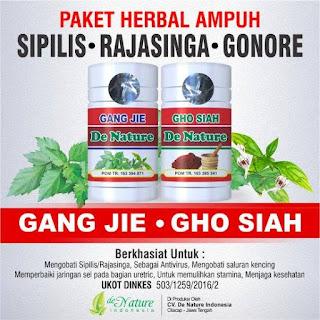 Agen Resmi Obat Herbal Sipilis De Nature (Gang Jie & Gho Siah)