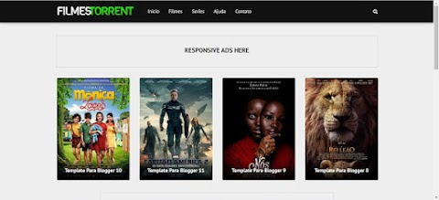 Mega Filmes Torrent Template Blogger