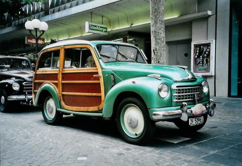 Analisis De Maquinas Fiat 500 Topolino 1936