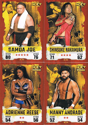 #154 Bull Dempsey Slam Attax then now Forever