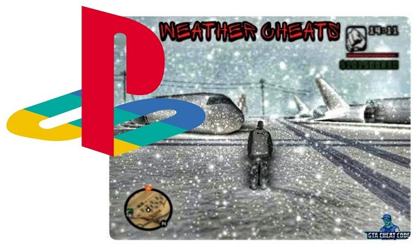 San Andreas Weather/Time Cheats Code for PS2