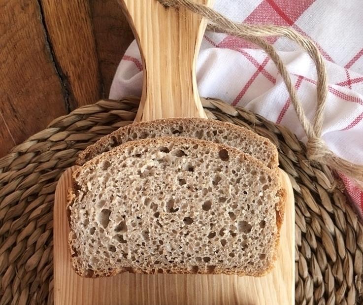 Pan de centeno integral de molde