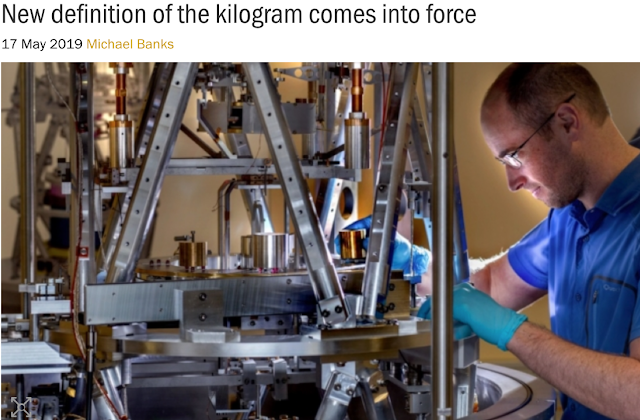 https://physicsworld.com/a/new-definition-of-the-kilogram-comes-into-force/