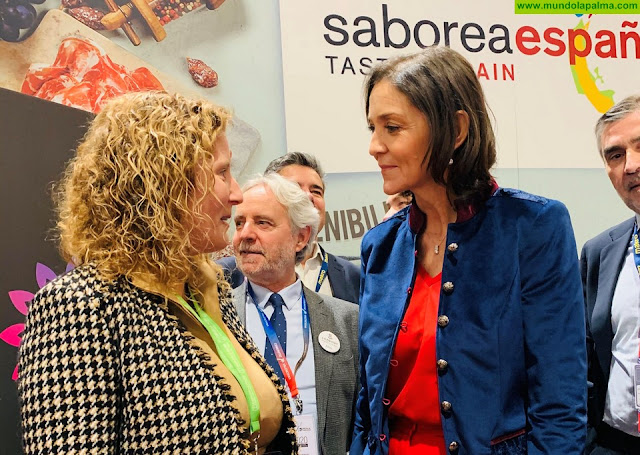 Los sabores de los productos locales y de la cocina hecha en La Palma ya son protagonistas de 'Madrid Fusión'