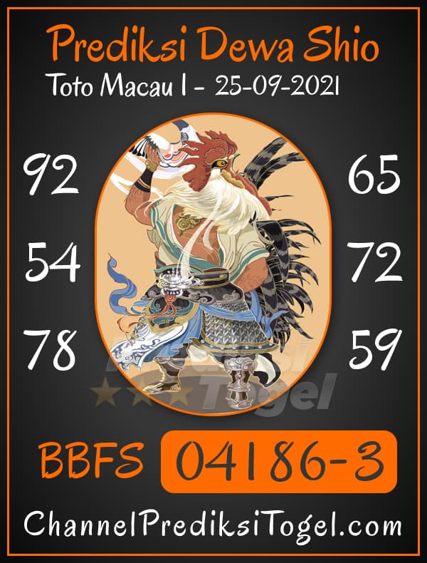 Predksi Shio Toto Macau P1