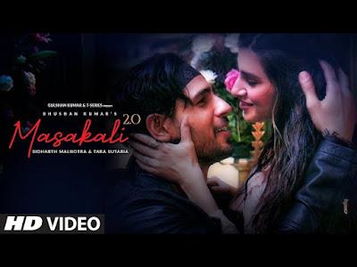 Masakali 2.0 lyrics - Sidharth Malhotra