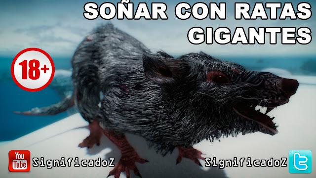 Soñar con Ratas Gigantes ¿Que Significa?