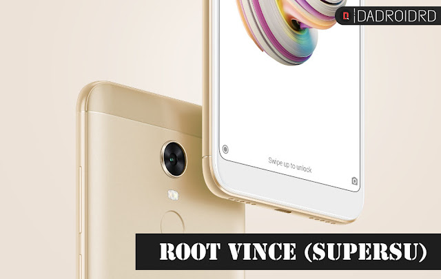 Cara Root Xiaomi Redmi Note 5 atau Xiaomi Redmi 5 Plus (Vince) tanpa PC dengan SuperSU