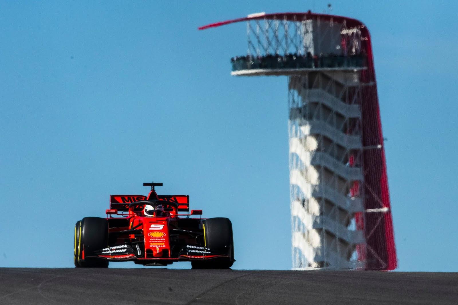 Sebastian Vettel, Austin