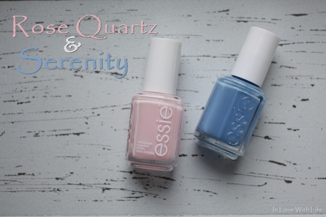Rose Quartz and Serenity Nagellack romper room und lapiz of luxury