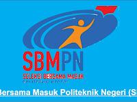 Pendaftaran Online SBMPN 2021/2022- Politeknik Negeri