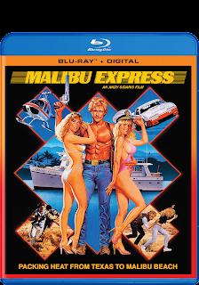 Malibu Express Blu-Ray, Digital