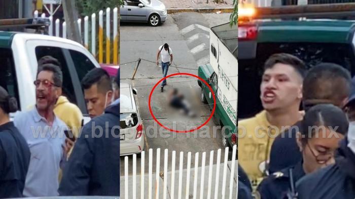 Familia de El Brayan golpeó a Policías y les reclamó por su muerte, El Brayan era un ratero de motos algún justiciero le dio 4 balazos en la cabeza