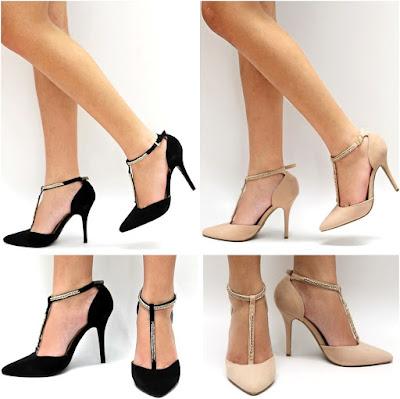 Black or Nude heels