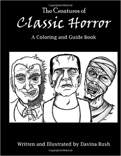 gothic halloween a scary adult coloring book - Gothic Coloring Book