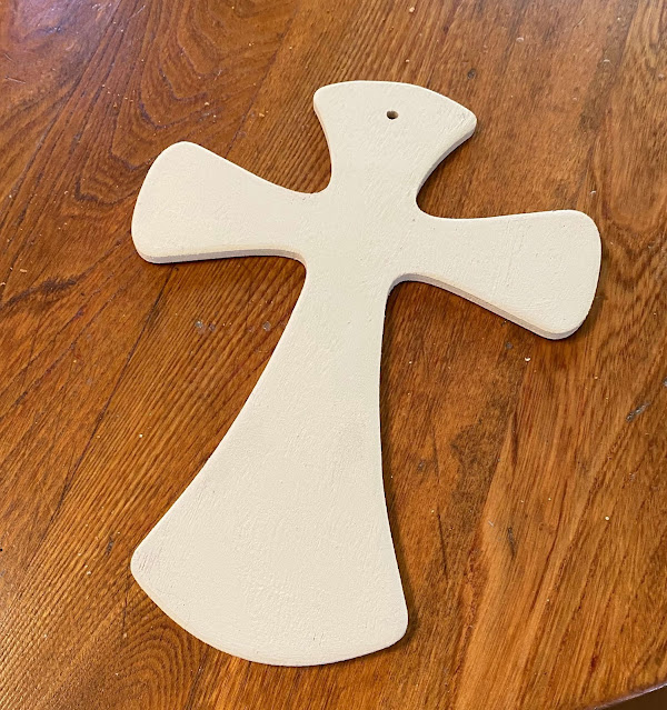 Photo of painted Cross