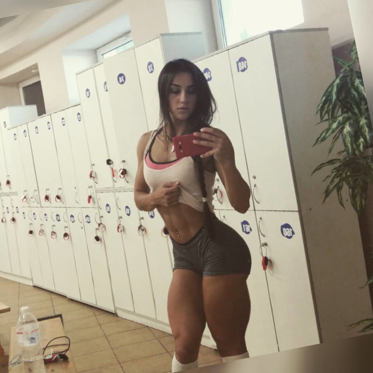 Fitness Model Bakhar Nabieva