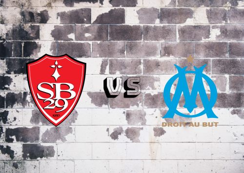 Brest vs Olympique Marseille  Resumen