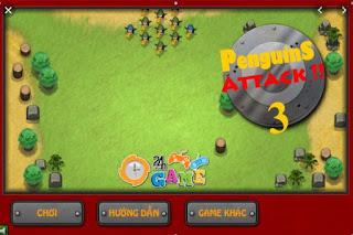 Chơi game trận chiến chim cánh cụt 2