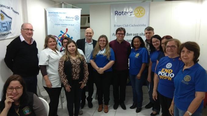 Rotary, Shopping do Vale e Prefeitura realizam ação de vacinação contra o Sarampo e a Pólio