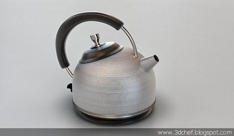 free 3d model kettle