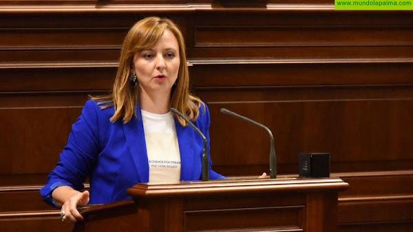Nieves Lady Barreto solicitará en el Parlamento al consejero de Sanidad que colabore con el sector turístico de La Palma en la realización de los test a los turistas