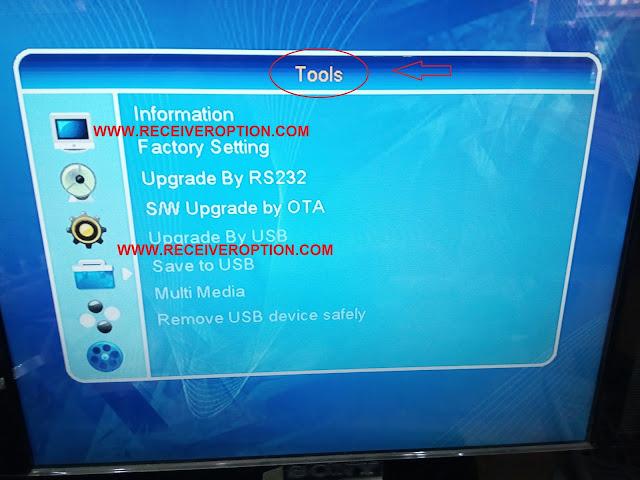 STAR TRACK SRT 550 HD RECEIVER BISS KEY OPTION