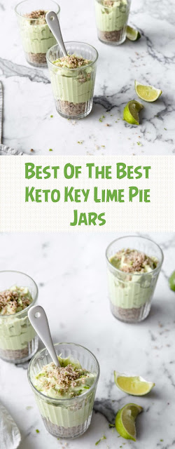 Best Of The Best Keto Key Lime Pie Jars