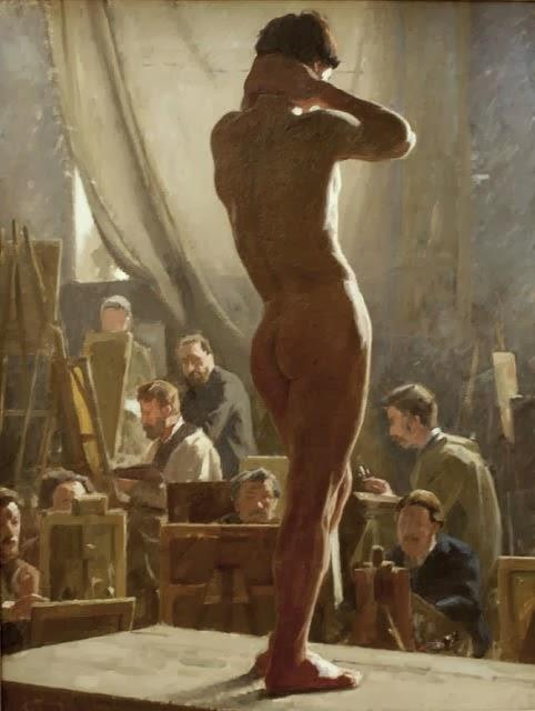 Nude Male Artists 41