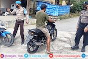 Jelang Bulan Suci Ramadhan, Personil Polsek Alla Tingkatkan Patroli