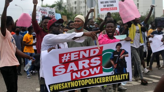 #EndSARS protests: Nigeria abolishes loathed federal special police unit