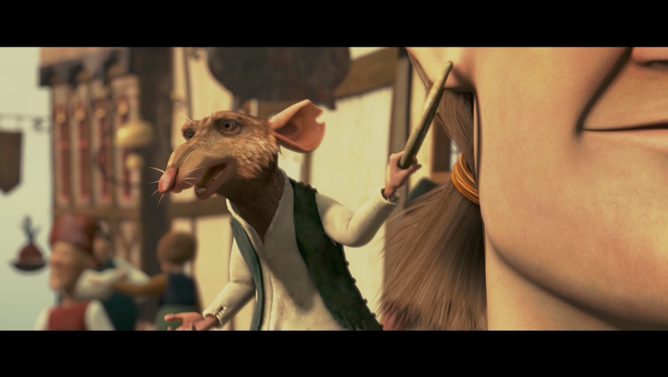 Movie The Tale of Despereaux (2008) - Adventures of Me