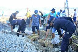 Polda Maluku Bantu Bangun Masjid di Batu Merah