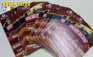 Cetak Lembaran Flyer Brosur Promosi Terdekat di Kalideres, Jakarta Barat
