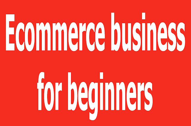 Ecommerce business for beginners