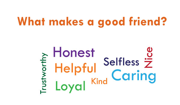 Essay on what makes a good friend