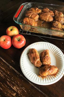 Easy Apple Dumplings #AppleWeek #sponsored
