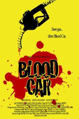 Blood Car Poster