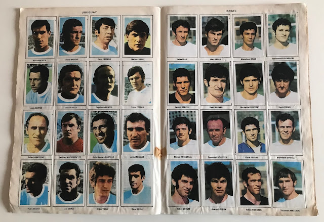 Figurine Uruguay Album Vanderhout Messico 70