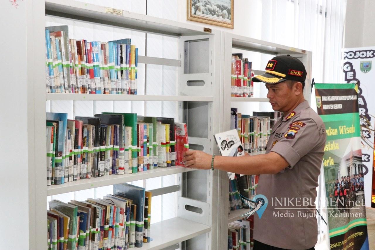 Kapolres Kebumen Bakal Bikin Ruang Baca di Tempat Pelayanan Kepolisian