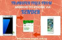 How To Send Pictures, Music And Videos From Android To iPhone Using Xender App.