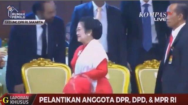 Video Detik-detik Megawati Melengos Tak Salami AHY dan Surya Paloh
