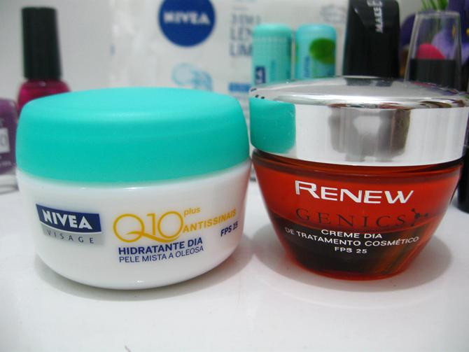 Renew Genics e Nivea Q10