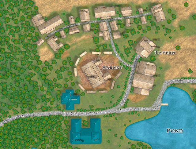 Você pode usar um destes mapas para ser a terra natal do seu personagem.