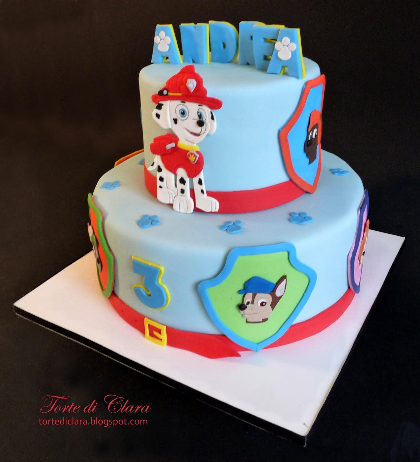 spesso Torte di Clara: Paw Patrol cake (3) BB01