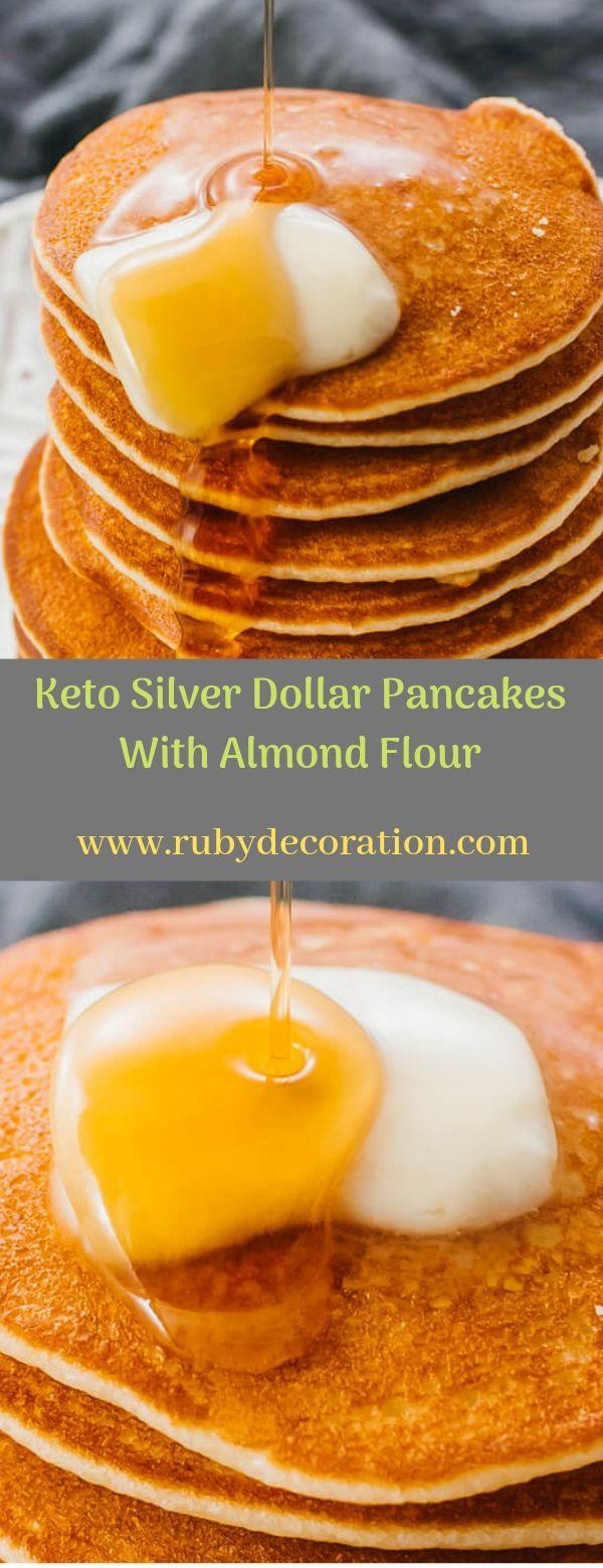 Keto Silver Dollar Pancakes With Almond Flour